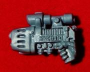 Space Marine Commander right hand Plasma Pistol